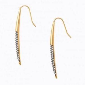 Stella & Dot New Moon Earrings